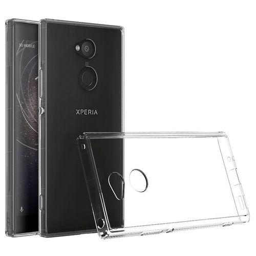 Flexi Shock Air Cushion Gel Case for Sony Xperia XA2 - Clear